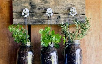 Mason Jar Herb Planter