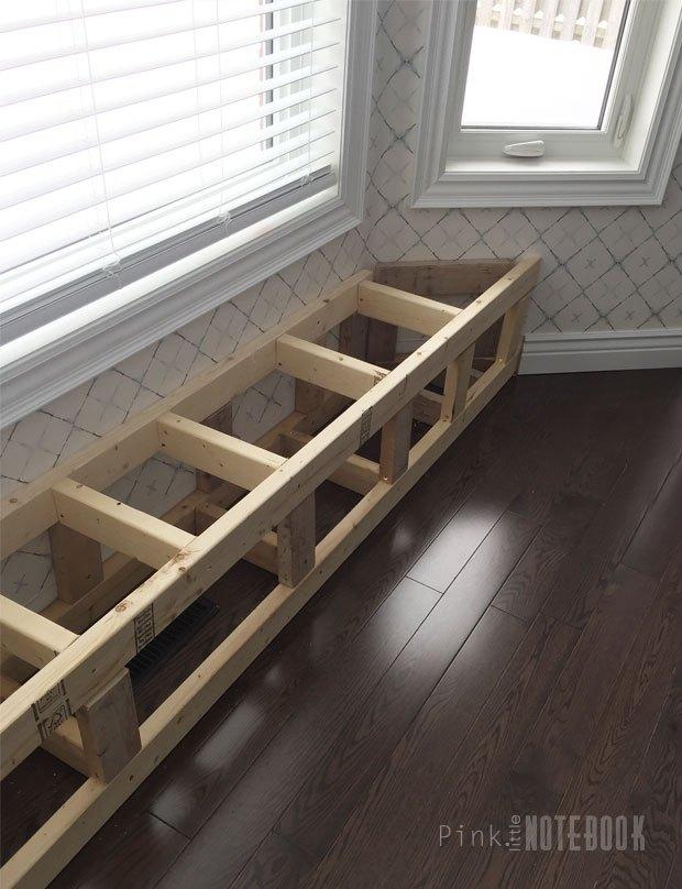 Diy Built In Window Bench Hometalk