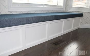 DIY Built-in Window Bench