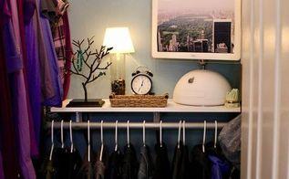 walk in closet makeover, closet