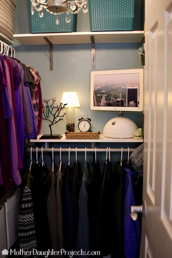 Walk-in Closet Makeover   Hometalk
