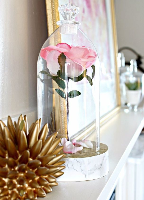 2l Pop Bottle To Beauty And The Beast Rose Cloche Hometalk