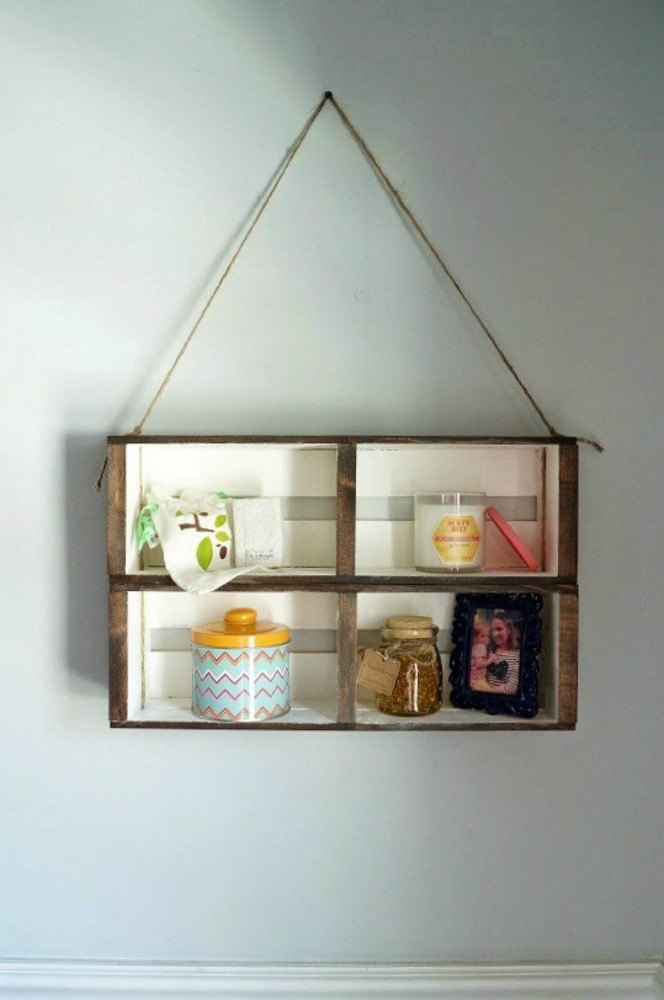 Reuse a CD organizer for small items