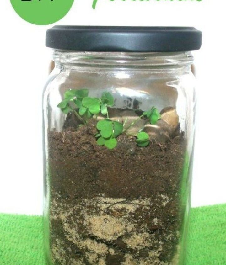 s 21 of the cutest terrariums we ve ever seen, gardening, terrarium, This cute one made from old glass jars