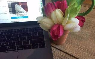 styrofoam flower ball, gardening