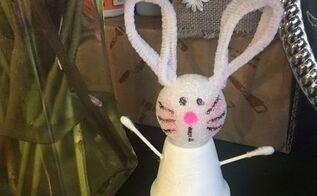 terra cotta pot easter bunny