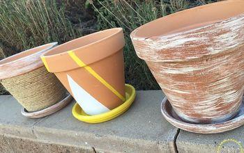 Zest up Those Terra-cotta Pots!