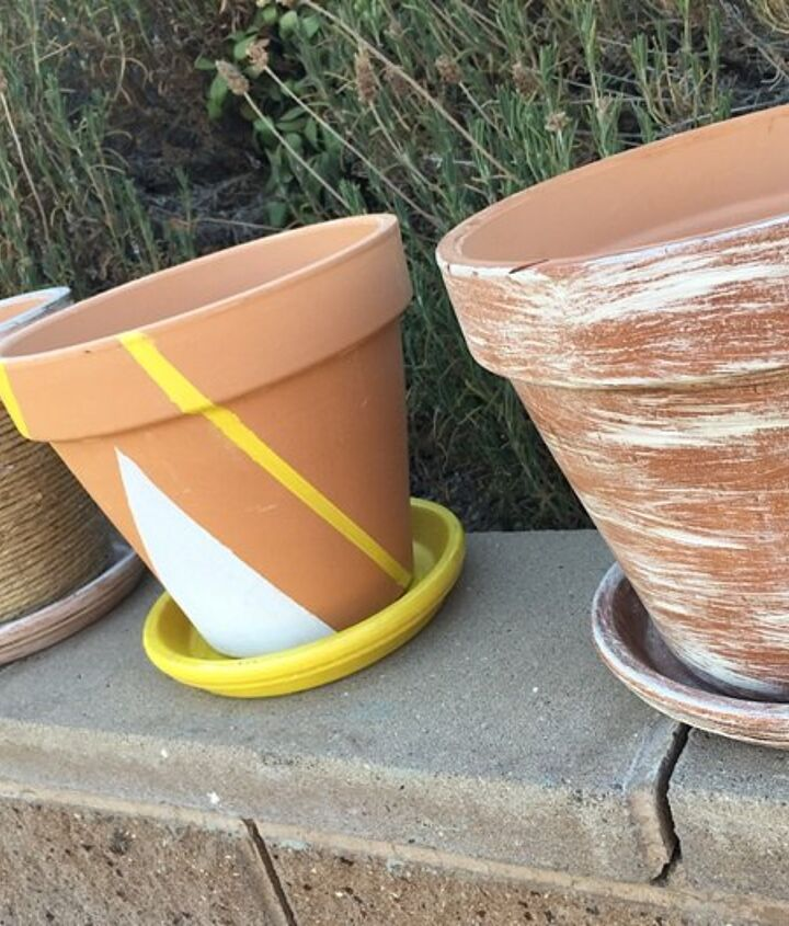 zest up those terra cotta pots