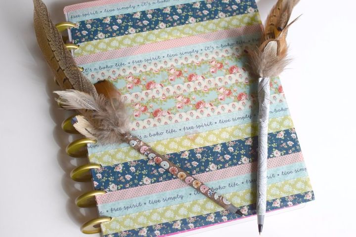 how to brighten your personal planner with washi tape, how to