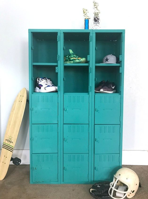 Chalk Paint Lockers