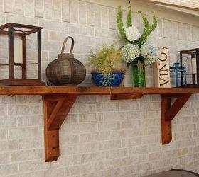 Superior Patio Shelves Make Any Patio Like An Outdoor Room, Shelving Ideas