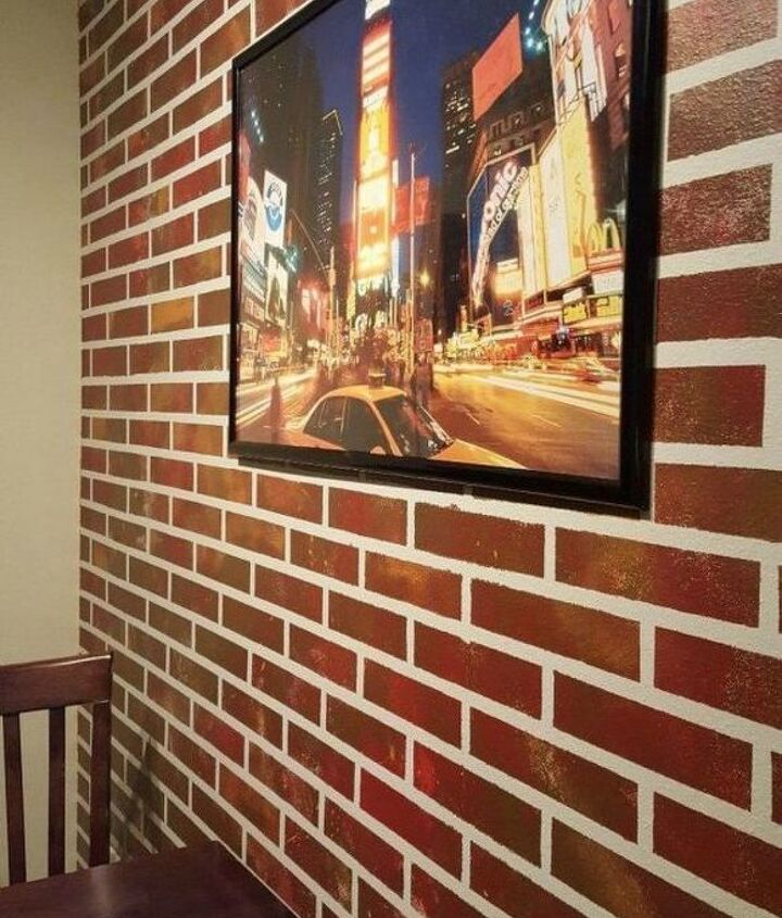 s 12 stunning ways to get that exposed brick look in your home, Paint them onto an accent wall