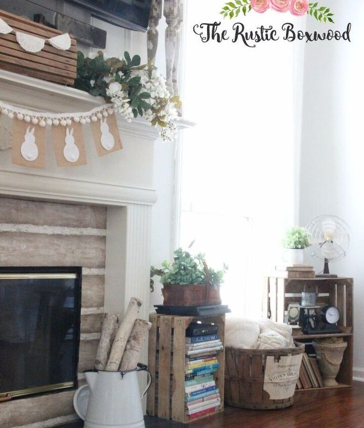 diy and thrifty spring tablescape and mantel