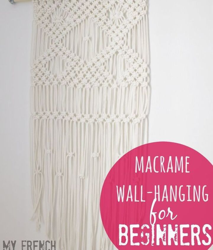 macrame wall hanging for beginners