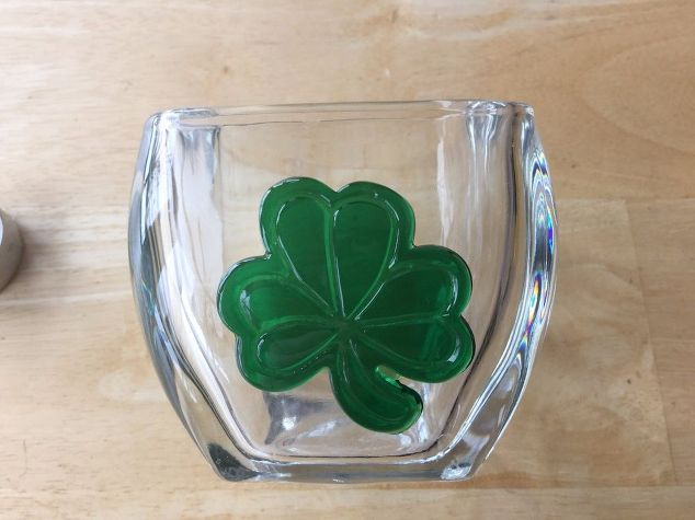 e crafternoons st patrick s day candle holder