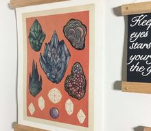 scroll style frame for any size print