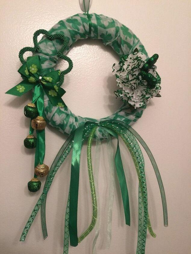 e st patrick s day wreath