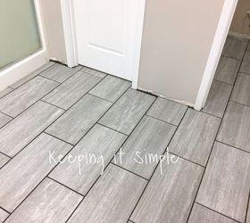 Great 12X12 Ceiling Tiles Asbestos Thin 12X12 Floor Tiles Flat 24X24 Floor Tile 2X4 Ceiling Tiles Cheap Old 3 X 6 White Subway Tile Dark4X4 Travertine Tile Backsplash How To Tile A Bathroom Floor With 12x24 Gray Tiles | Hometalk
