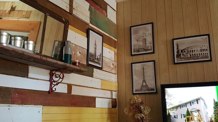 Recycled Wall Hometalk