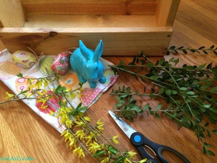 Wooden Toolbox Easter Decor Hometalk