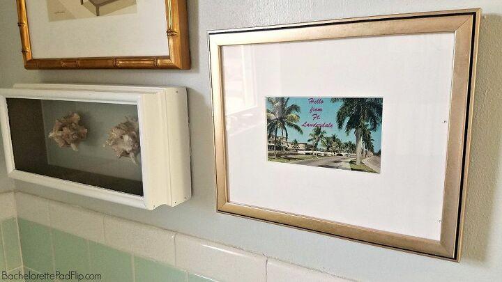 e how i created a vintage florida gallery wall
