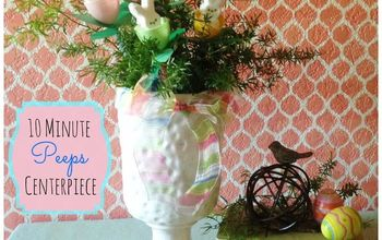 10 minute peeps easter centerpiece