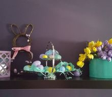easter mantle from simple things