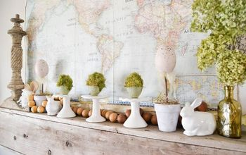 Spring Mantel: Easy Decor To Welcome The New Season