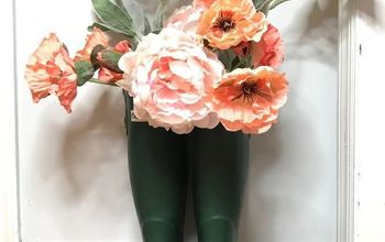 4 Ways to Use Old Rain Boots for Spring Decor