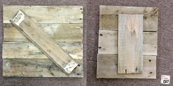 make a easter bunny reclaimed wood sign 3 styles