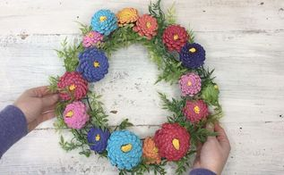 pinecone zina wreath