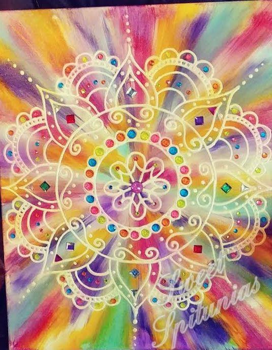 Bohemian Meets 70\'s Tie Dye Art Functional Art #UnicornSPiT #Sponsor ...