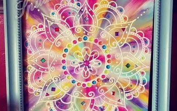 Bohemian Meets 70's Tie Dye Art Functional Art #UnicornSPiT #Sponsor
