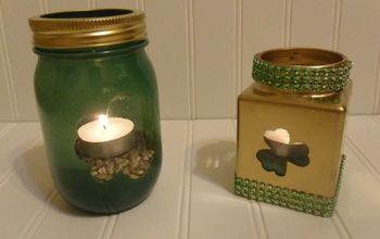 st patrick s day candle holders