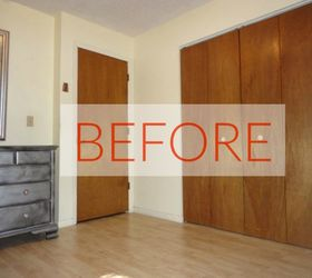 Start & 13 Amazing Closet Door Transformations That Will Change Your Room ...