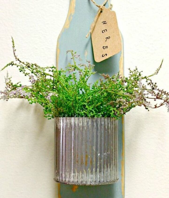 s transform old cutting boards into these 13 nifty items, Revamp them as herb gardens