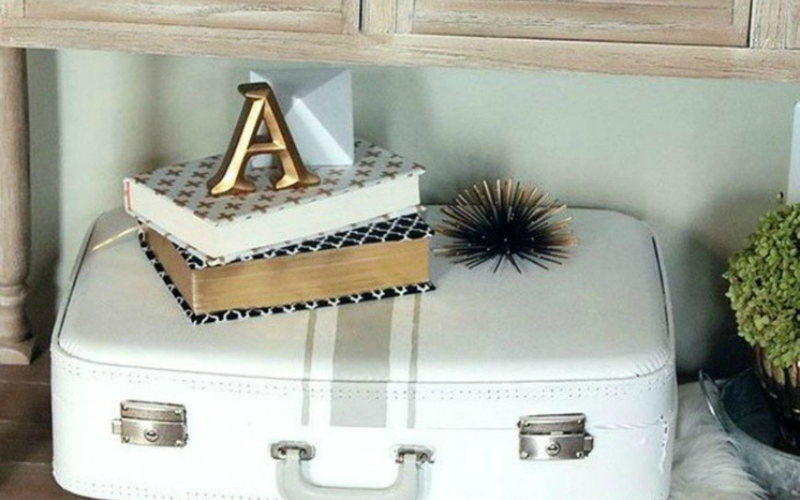 s don t throw out your old suitcase before you see these 15 clever ideas, Or use it as an addition to your home decor