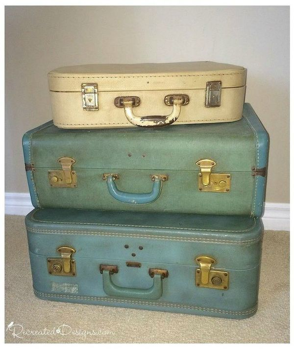don t throw out your old suitcase before you see these 15 clever