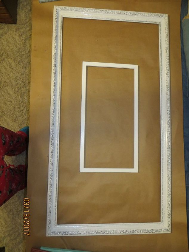 Collage of Empty Old Frames..   Hometalk