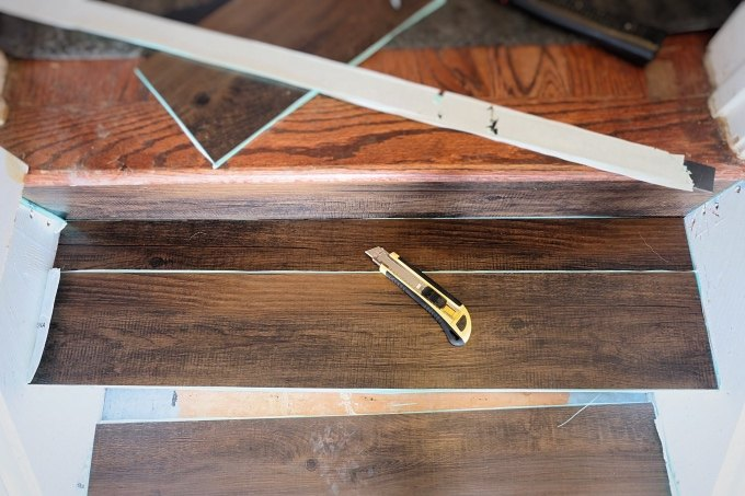 Top Great Solution: Wood Look Vinyl Tile on a Stair | Hometalk ZD01