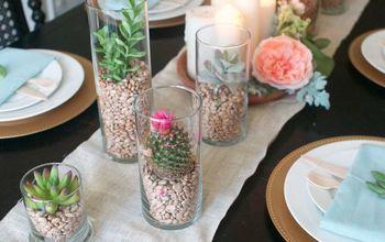 desert inspired easter tablescape