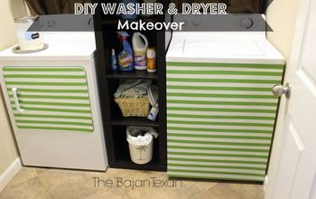 DIY WASHER MAKEOVER + DRYER