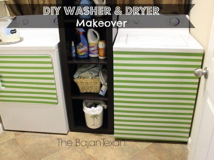 diy washer makeover dryer