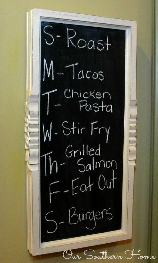 s turn anything into a chalkboard with these 13 creative ideas, Upcycle a coffee table into a menu board