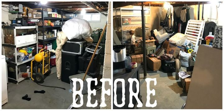 basement overhaul phase i