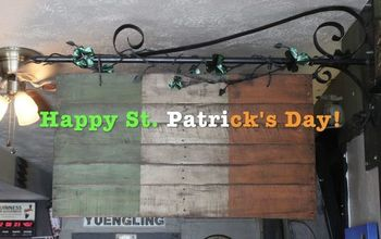 Happy St. Patricks Day! - Old Style Banner for Flanagan's Irish Pub