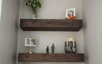 DIY Floating Shelves!