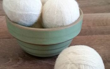 Thrifted Wool Yarn Felted Dryer Balls
