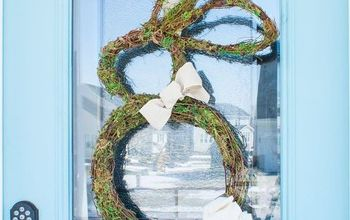 how to shape the perfect bunny wreath