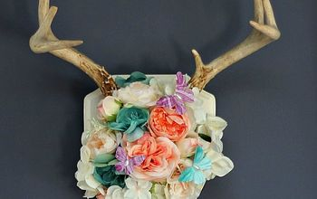 See How Easy It is to Decorate an Antler for Spring